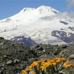 вулкан эльбрус гора